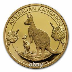 2020 Australia $500 5 oz Gold Proof Kangaroo SKU#217090