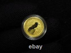 2020 Australian 1/10Th Oz. Gold Kookaburra RARE GOLD COIN