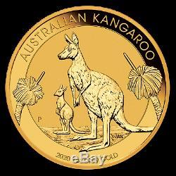 2020 Australian 1 oz Gold Kangaroo Coin BU Perth Mint Gold