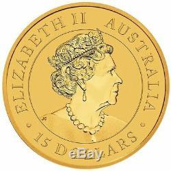 2020 Australian Kangaroo 1/10oz. 9999 Gold Bullion Coin The Perth Mint