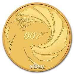 2020 Tuvalu 1 oz Gold James Bond 007 BU SKU#206708