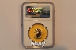 2020p Pop 30 Rare Australia One Ounce Gold Double Dragon Ngc Ms70 G$100 Ebucks