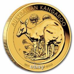 2021 Australia 1/10 oz Gold Kangaroo BU