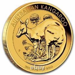 2021 Australia 1/2 oz Gold Kangaroo BU SKU#217666