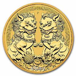 2021 Australia 1 oz Gold Double Pixiu BU SKU#226735