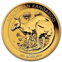 2021 Australia 1 oz Gold Kangaroo BU SKU#217664