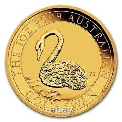 2021 Australia 1 oz Gold Swan MS-70 NGC (ER) SKU#227385