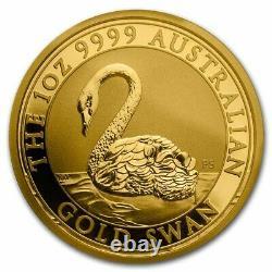 2021 Australia 1 oz Gold Swan MS-70 PCGS (FS, Swan Label) SKU#229574
