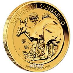 2021 P Australia Gold Kangaroo 1 oz $100 BU