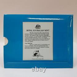 22ct 10gr Gold Australian Coin $200 1989 Pride Of Australia In Pack #53772