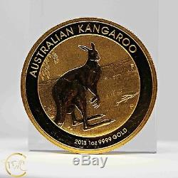 24 Kt Gold Coin Australian Kangaroo 1 Troy Ounce