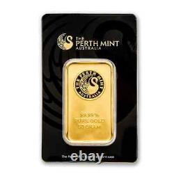 50 gram Gold Bar Perth Mint (In Assay) SKU #78887