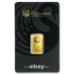 5 gram Gold Bar Perth Mint (In Assay) SKU #57163