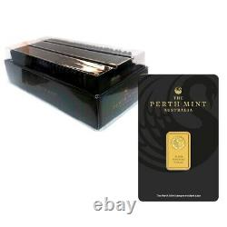 5 gram Perth Mint Gold Bar. 9999 Fine (In Assay)