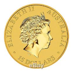 999 1/10 Ounce Gold Australian Kangaroo