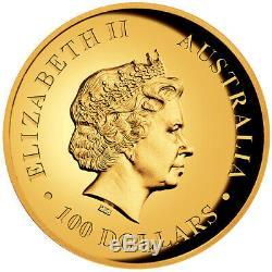 AUSTRALIAN KANGAROO 2018 1oz GOLD PROOF HIGH RELIEF COIN
