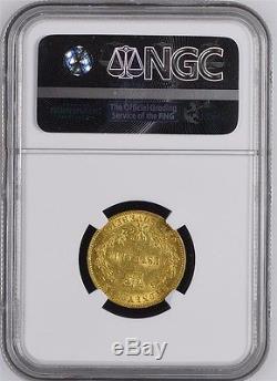 Australia 1864 Gold Sovereign Ngc Au58