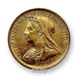 Australia 1895M Sovereign Gold Coin SKU# 7279