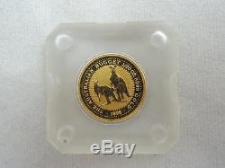 Australia 1998 The Australian Nugget / Kangaroo 1/20 oz $5 Gold Coin