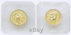 Australia 1999 Kangaroo Joey 1/20 oz Gold Coin