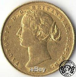 Australia 1 Sovereign 1864 QV. XF+