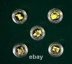 Australia. 2001-2005, Gold Nugget Prospector Series. Scarce