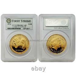 Australia 2006 Year of the Dog $100 1 oz Gold PCGS PR69 DCAM SKU# 7197