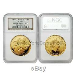 Australia 2008 Koala $200 2 oz Gold NGC PF70 SKU#6583