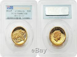 Australia 2012 Koala $100 High Relief First Strike 1 oz Gold PCGS PR69 DCAM