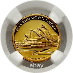 Australia 2013P Sydney Opera House $25 Gold NGC PF70 UC First 250 Struck