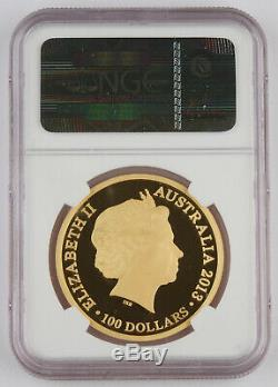 Australia 2013 $100 1 Oz Gold Kangaroo Coin 20th Anniversary NGC PF69 UCAM RARE