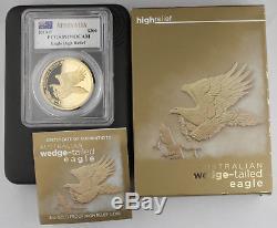 Australia 2014 $200 2 Oz Gold Wedge-Tailed Eagle High Relief PCGS PR70 PF70 DCAM