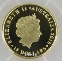 Australia 2016 Half 1/2 Sovereign Sov Gold Proof Coin PCGS PR70 PF70 Deep Cameo