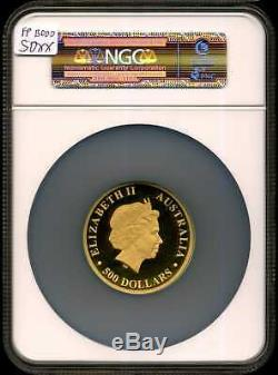 Australia 2016-P G$500 5oz Gold Koala PF70 Ultra Cameo NGC 4396809-014
