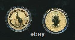 Australia 2020 $15 1/10oz 9999 Gold Kangaroo Coin UNC, Encapsulated