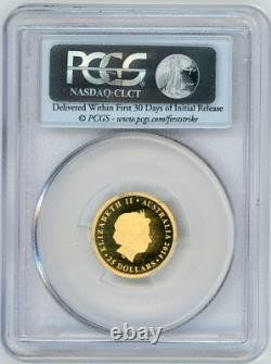 Australia $25 2014 P TURTLE PCGS-PF69 DCAM Gem+ Proof gold, Mintage=1000