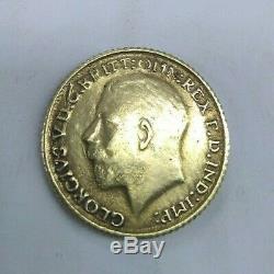 Australia Gold Sovereign 1918 P Perth Mint George V KM # 29 (R467-L)