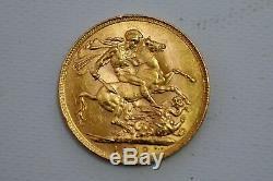 Australia Gold Sovereign 1922 George V Perth Mint KM# 29