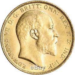 Australia Gold Sydney S Sovereign. 2354 oz Edward VII BU Random Date