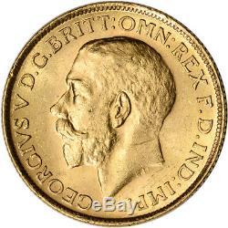 Australia Gold Sydney S Sovereign. 2354 oz George V BU Random Date