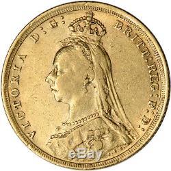 Australia Gold Sydney S Sovereign. 2354 oz Victoria Jubilee XF AU Random Date