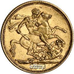 Australia Gold Sydney S Sovereign. 2354 oz Victoria Young Head XF AU Random Date