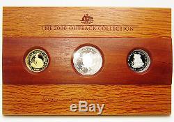 Australian 1 ounces Gold Coin 1oz Silver 1oz Platinum Outback Proof Collection