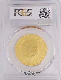 Australian 2000 Dragon $100 PCGS MS-69 0.9999 1 Ounce Gold Coin