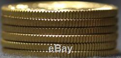 Australian $200 Gold Coins (19801993) 0.2947 ozt AGW