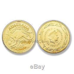 Australian 2016 Kangaroo Royal Australian Mint Veriscan $50 1/2 oz Gold Coin BU