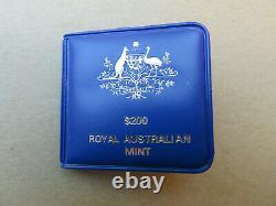 Australian 22ct 10 Grams Gold $200 Dollar Coin 1980