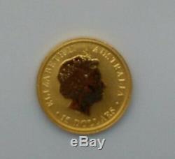 Australian Kangaroo $15 1/10oz Proof Gold Coin 2015