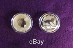 Australian Kangaroo 1 OZ. 9999 Gold Coin