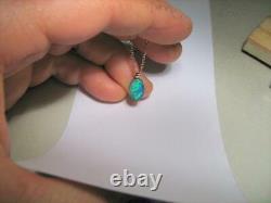 Australian Opal Doublet Pendant 2.5ct 14kt Rose Gold Genuine Jewelry Gift D44